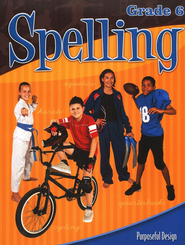 ACSI Spelling Grade 6 Student Book, Revised   -