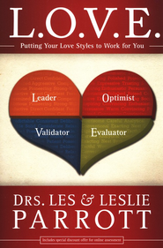 L.O.V.E.: Uncover Your Personal Love Style  - Slightly Imperfect  -              By: Dr. Les Parrott, Dr. Leslie Parrott