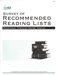 Survey of Recommended Reading Lists   -