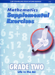 ACSI Math, Supplemental Exercise Book Grade 2 (Blackline Masters)   -