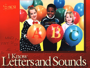 I Know Letters and Sounds, Student Edition  - Slightly Imperfect  -