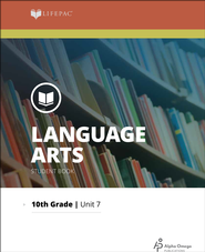 Lifepac Language Arts Grade 10 Unit 7: Oral Reading and Drama   -