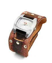 Adjustable Watch, Ichthus, Brown  -