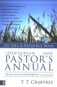 The Zondervan Pastor's Annual, 2009 Edition with CD-ROM   -     By: T.T. Crabtree