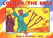 Colour the Bible Book 4: Matthew - Acts   -