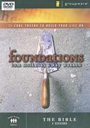 Foundations: The Bible, DVD    -              By: Kay Warren, Tom Holladay