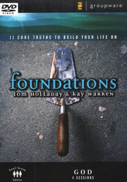 Foundations: God, DVD   -              By: Kay Warren, Tom Holladay