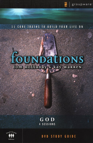 Foundations: God, DVD Study Guide  - Slightly Imperfect  -