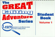 Great Editing Adventure Student, Volume 1   -