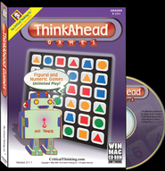 Think Ahead Games on CD-ROM (Grades 3 to 12)   -