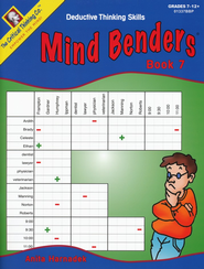 Mind Benders Book 7, Grades 7-12   -