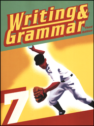 BJU Writing & Grammar Grade 7 Student Worktext Third Edition   (Updated Copyright)  -