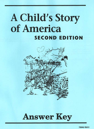 A Child's Story of America Answer Key, Grade 4   -     By: Homeschool