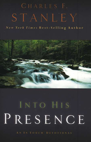 Into His Presence: An In Touch Devotional - Slightly Imperfect  -