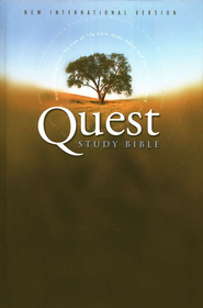 NIV Quest Study Bible: The Question and Answer Bible - eBook  -