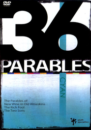 Cyan--The Parables of New Wine in Old Wine Skins, The Rich Fool, and The Two Sons, DVD  -     By: 36 Parables