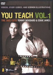 You Teach Vol. 1, DVD        -     By: Tommy Woodard, Eddie James