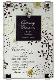 Thinking of You Photo Frame w/Charm  -