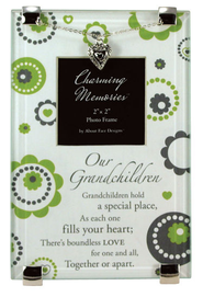 Grandchildren Photo Frame w/Heart  -