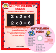 Multiplication Songs CD   -