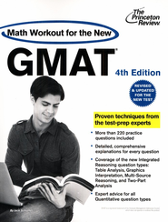 Math Workout for the New GMAT, 4th Edition: Revised and Updated for the New GMAT - eBook  -     By: Princeton Review