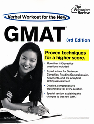 Verbal Workout for the New GMAT, 3rd Edition: Revised and Updated for the New GMAT - eBook  -     By: Princeton Review