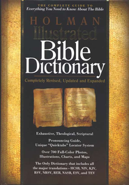 HOLMAN ILLUS BIBLE DICTIONAR - DAMAGED  -
