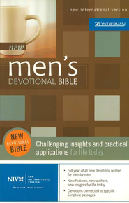 NIV Men's Devotional Bible Softcover 1984 - Imperfectly Imprinted Bibles  -