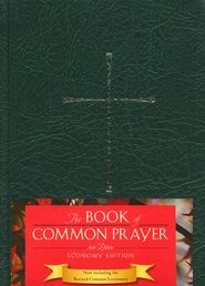 1979 Book of Common Prayer Economy Edition green Imitation Leather  -