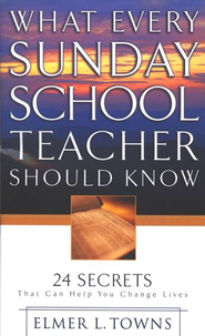What Every Sunday School Teacher Should Know - Slightly Imperfect  -     By: Elmer Towns