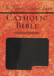 The Revised Standard Version Catholc Bible Compact Ed., Pacific Duvelle (Imitation Leather) BK/GY  -