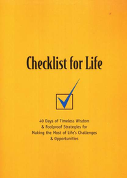 Checklist For Life   -