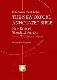 NRSV New Oxford Annotated Bible with Apocrypha, 4th Edition Hardcover  -