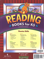 BJU K5 Beginnings Reader Set, Second Edition   -