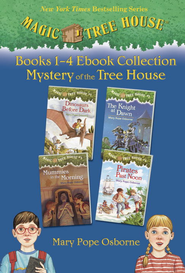 Magic Tree House: Books 1-4 Ebook Collection: Mystery of the Tree House - eBook  -     By: Mary Pope Osborne     Illustrated By: Sal Murdocca