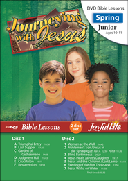 Journeying with Jesus Junior (Grades 5-6) Bible Lesson DVD  -