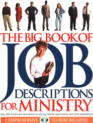 The Big Book of Job Descriptions for Ministry - Slightly Imperfect  -