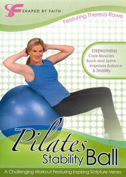 Pilates Stability Ball, DVD   -              By: Theresa Rowe