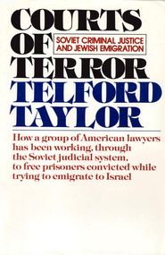 Courts of Terror - eBook  -     By: Telford Taylor