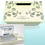Wordkeeper Floral Lap Desk   -