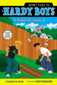 Robot Rumble - eBook  -     By: Franklin W. Dixon     Illustrated By: Scott Burroughs