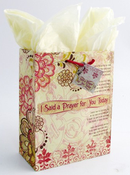 I Said A Prayer Gift Bag, Large   -