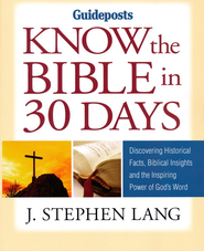 Know the Bible in 30 Days - eBook  -     By: J. Stephen Lang