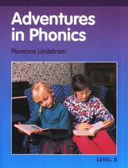 Adventures in Phonics, Level B (Grade 1)   - Slightly Imperfect  -