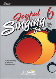 Joyful Singing for Teens #6 Audio CD   -