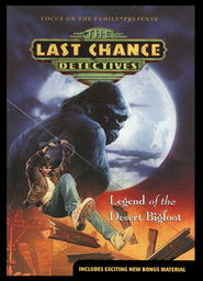 Last Chance Detectives #2: Legend of the Desert Bigfoot  -
