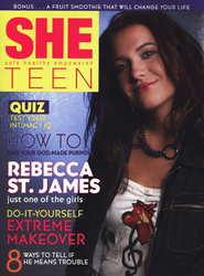 SHE Teen: Safe, Healthy, Empowered    -     By: Rebecca St. James, Lynda Hunter Bjorklund