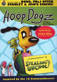 HoopDogz Episode #2: Stealing's Uncool! Commandment 8 on DVD   -     By: Hoop Dogz