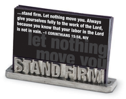 Stand Firm Scripture Card Holder  -