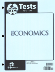 BJU Heritage Studies Grade 12 (Economics) Tests Packet Answer Key  Second Edition  -